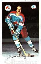 1972-73 Quebec Nordiques Postcards #17 Michel Parizeau