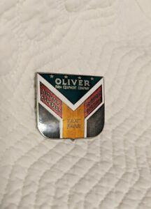 Oliver Farm Equipment Hart Parr Shield Logo Nichols & Shepard Hat Lapel Pin