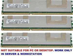 8GB 16GB 24GB 32GB Memory Ram  DDR3 PC3 10600R 1333MHz 240pin ECC Reg 2x Lot