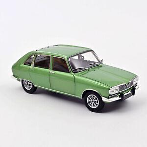 Renault R 16 TX Baujahr 1975 grün-metallic Maßstab 1:18 von Norev