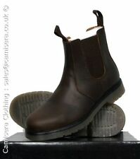 Chelsea, Ankle 100% Leather Slip On Boots for Men