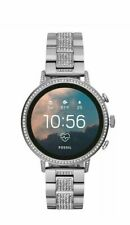 Fossil FTW6013Q Venture HRGen4 Womens Jewels Smartwatch Stainless Steel Bracelet