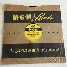 78 rpm Hank Williams WON'T BE HOME NO MORE  Love For You MGM Jukebox Record