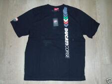 Camisetas de hombre Ducati color principal negro 100% algodón