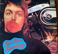PAUL MC CARTNEY RED ROSE SPEEDWAY YUGOSLAVIA  ORIGINAL 1973  NO FOLDER !