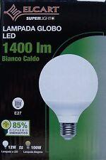 GLOBO A LED ELCART 12WATT E27 BIANCO CALDO