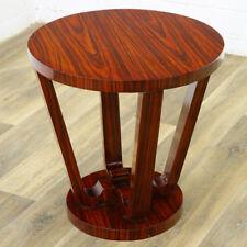 ART DECO TISCH MÖBEL rund, JAZZ AGE TABLE brown [AMERICAN IMPORT] MACASSAR EBONY