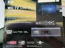 Western Digital WD TV Live Plus HD Media Player NEW w/ Remote,WDBABX0000NBK-NESN