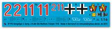 1/16 RE TIGRE 2 comp. S. pz. ABT 506 FRONTE OCCIDENTALE 1945 992