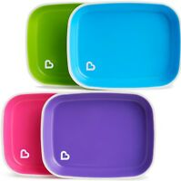 Munchkin Splash Plates 2Pk - Anti Slip Baby Plate 2 pack