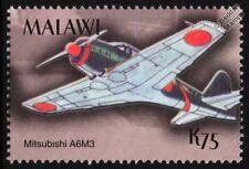 WWII IJN Mitsubishi A6M/A6M3 Zero Fighter Aircraft Stamp