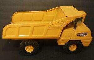 Vintage Nylint Jumbo Dump Truck Pressed Steel Construction Dump Truck Yellow
