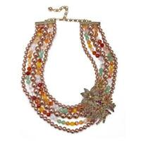 Heidi Daus Merci Beaucoup Crystal Bib Statement Necklace RET $499.95