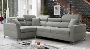 Brand new corner sofa bed with storage Veneto II