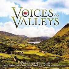 Voices Of The Valleys 19 Welsh Classics Caernarfon Male Choir, Bryn Terfel +More