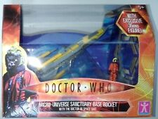 Doctor Who Micro-Universe Sanctuary Base Rocket with The Doctor In Space Suit