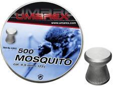 500 Umarex Mosquito Diabolos Diabolo 4,5mm Flachkopf für Luftgewehr Luftpistole