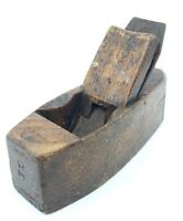 Vintage Hand Wood Plane Marked H Swan