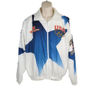 Vintage Champion USA 1996 Atlanta Olympics Men's Windbreaker Jacket XL