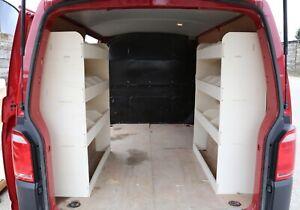 VW Transporter T5 & T6 LWB Van Racking DOUBLE UNITS Tool Storage Shelving