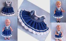 Kleidchen   für Püppchen 10-11 cm