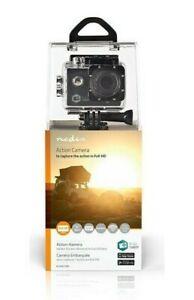 Nedis WiFi Action Camera HD 1080P Video Camcorder Waterproof 12MP (UK Stock) NEW