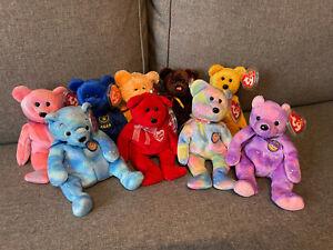 Ty Beanie Babies vers. Teddys 1 - neu unbespielt - mit Tag Sammlerqualität