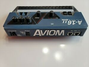AVIOM A-16 II 16 Channel Personal Mixer In Ear Monitor! Missing 2 buttons!