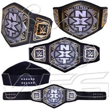 Tag Team Championship Nxt Wrestling Replica Wwe Belt 4mm Gold Plated Silver