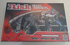 RISK TRANSFORMERS CYBERTRON WAR EDITION BOARD GAME~HASBRO ~NEW ~ MINT ~ 2007