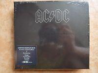 AC/DC Back in black Limited Fanpack edition sticker, badge, guitar pick, keyring