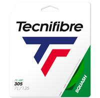 TECNIFIBRE 305 SQUASH STRING - 1.25MM - ONE 10M SET - GREEN - RRP £15