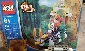 Lego Orient Expedition Tygurah's Roar (7411) incomplete