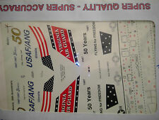 1/48 Superscale F-16C USAF ANG 50th Anniversary 170th FS & 149th FS Decal Sheet