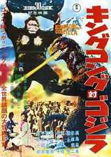 King Kong Vs Godzilla Poster 01 A4 10x8 Photo Print
