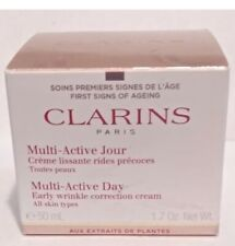 Clarins- Multi Active Day (Early wrinkle correction cream) All Skin Type 1.7 oz.