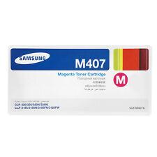 Original Samsung Printer Toner Cartridge M407 Magenta CLP-M407S