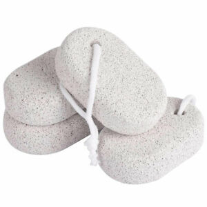 2PCS Nutural Pumice Stone for Feet Scrubber Pedicure Tools Exfoliation Dead Skin