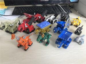 Dreamworks Dinotrux Metal Diecast Truck Car Garby/Drago/Wrecka/Dozer New Loose