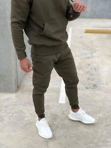 Signature Track Pants - Khaki