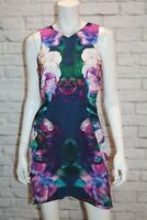 keepsake Brand Navy Floral HUMAN DESIRE Dress Size M BNWT #SD100