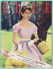 ▬►ELLE 402 de 1953 BRIGITTE BARDOT_MODE FASHION VINTAGE