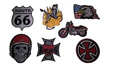 ECUSSON PATCH BIKER MOTARD THERMOCOLLANT LOT DE 7