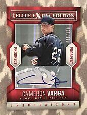 2014 Elite Extra Edition Cameron Varga Inspirations  Auto Die Cut #078/100
