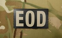 Infrared EOD Black & Tan Patch Explosive Ordnance Disposal US Army Navy