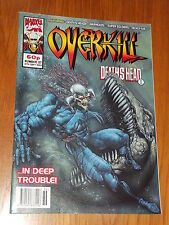OVERKILL #37 MARVEL BRITISH MAGAZINE 10 SEPTEMBER 1993 WARHEADS DEATHS HEAD II^