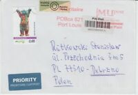 PIN Berlin  Beleg  Brief nach Polen
