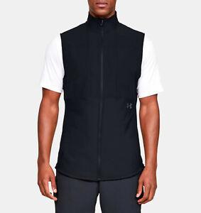 Under Armour Mens UA Vanish Hybrid Vest 1327655-001 Black/Pitch Gray Size L NWT