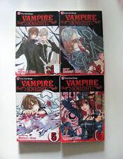 Vampire Knight 2 4 5 6 Matsuri Hino Shojo Beat Manga Lot Yuki Zero Set