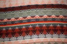 Silk Crepe De Cine Print #20 Natural Fiber Bridal Light Weight Fabric BTHY